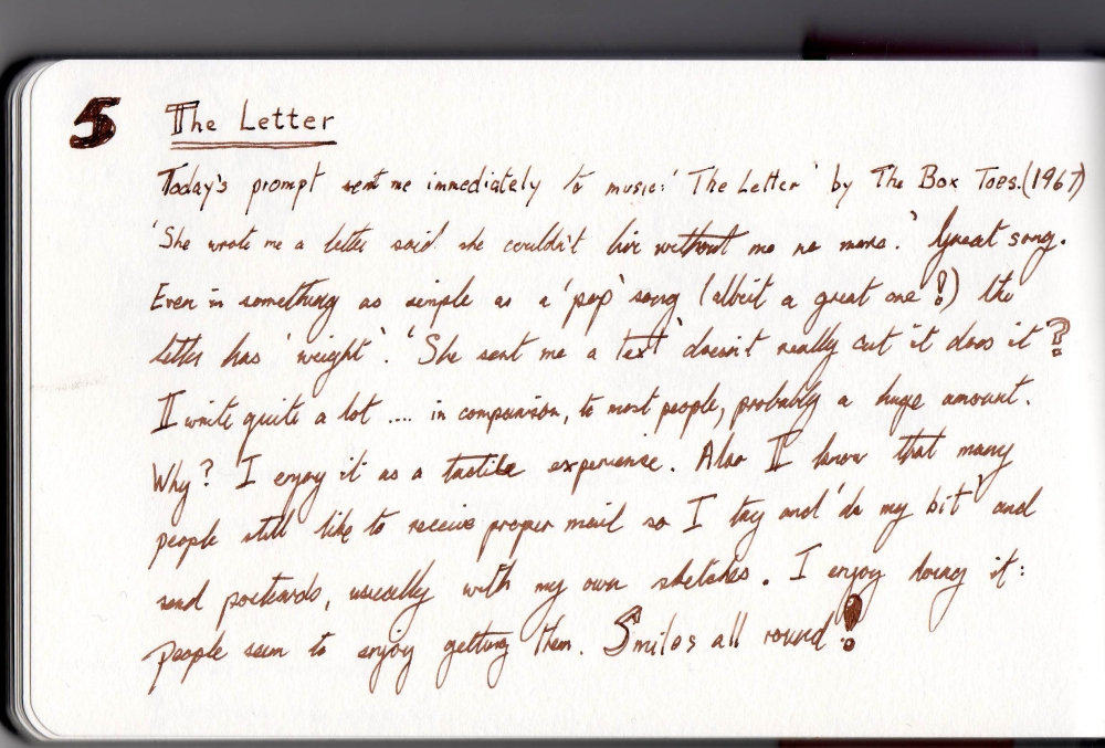 February Challenge -6: The Letter (1/2)