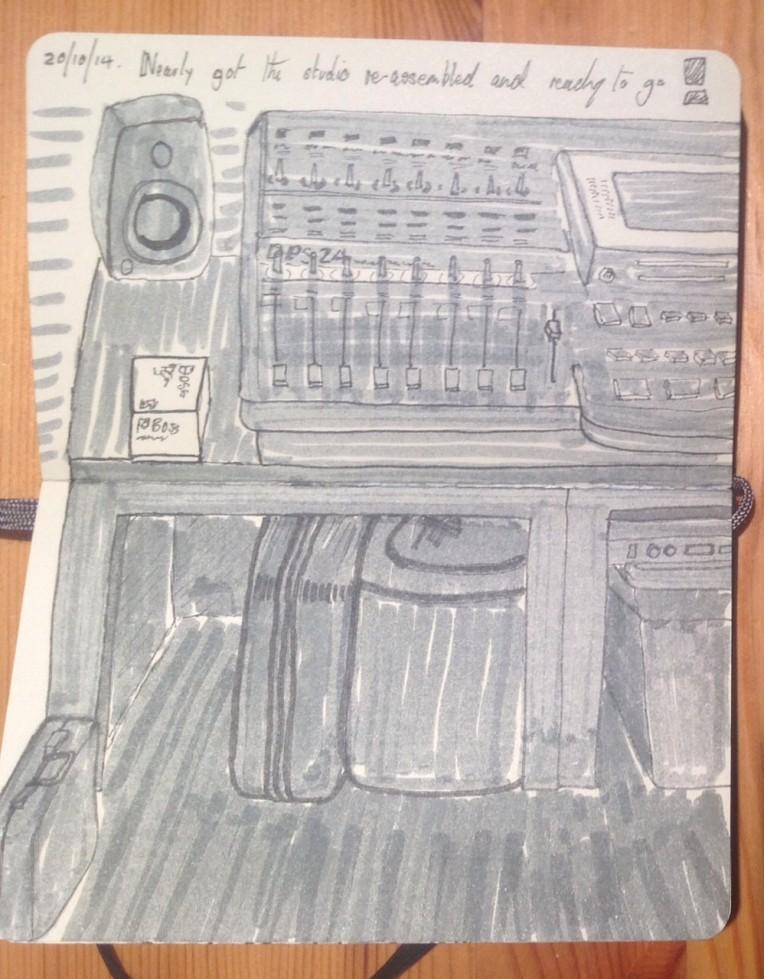 Studio Study - Pitt